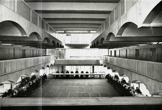 St. Peter's Seminary Refectory