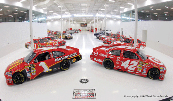 Ganassi Racing: Cleaner than your garage