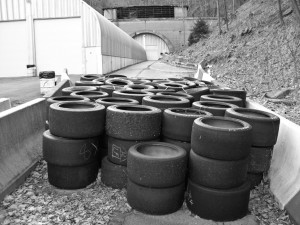 Laurel Hill Tunnel tires