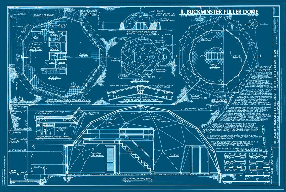 Buckminster Fuller S Home In A Dome Sometimes Interesting