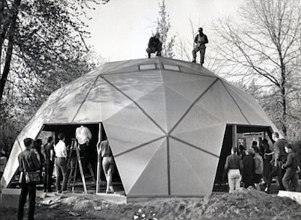 Buckminster Fuller S Home In A Dome Sometimes Interesting