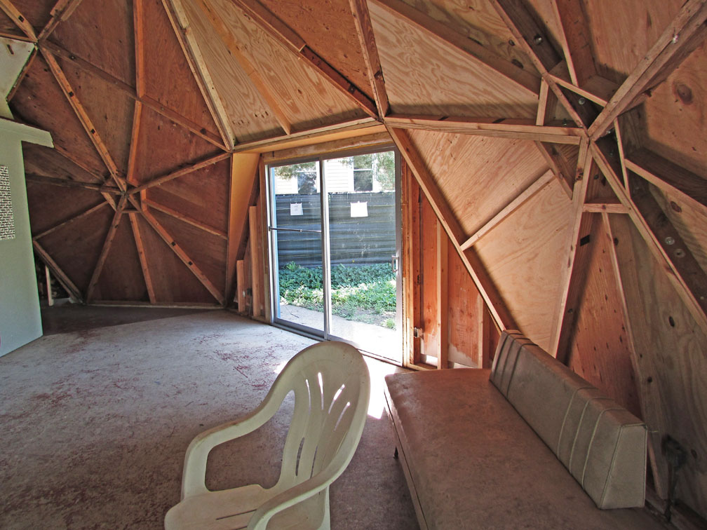 Buckminster Fuller's Home in a Dome