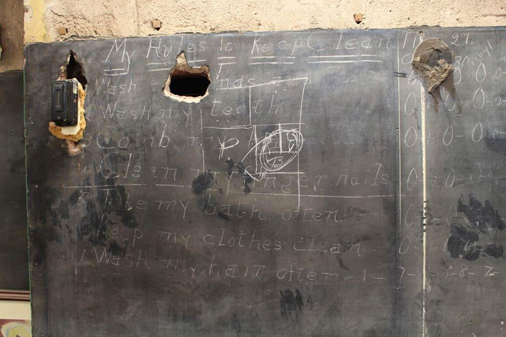 Oklahoma's Hidden Chalkboards of Yesteryear