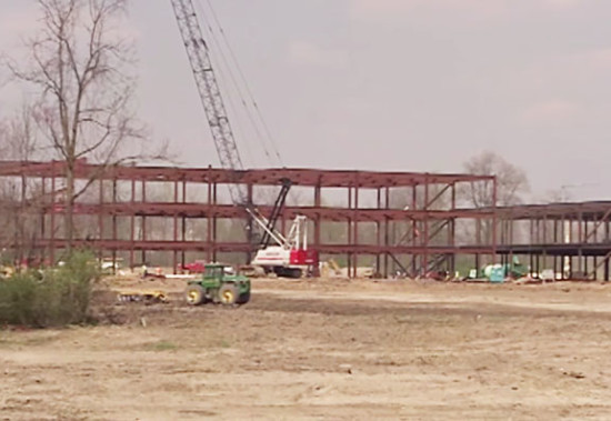 Construction of new Reid Hospital & Health Care Services Center