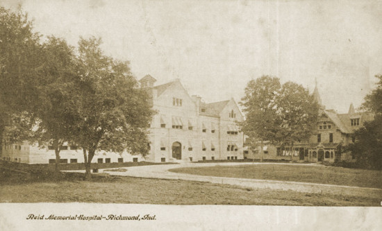 Reid-Hospital-Richmond-Indiana-vintage-1905