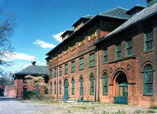 The former Hackensack Water Company plant in Oradell, circa 1998 (courtesy Dave Freider)