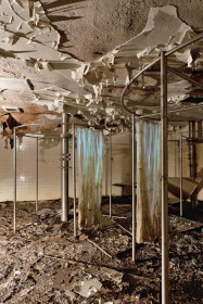 Employee shower room (courtesy Amy Heiden)