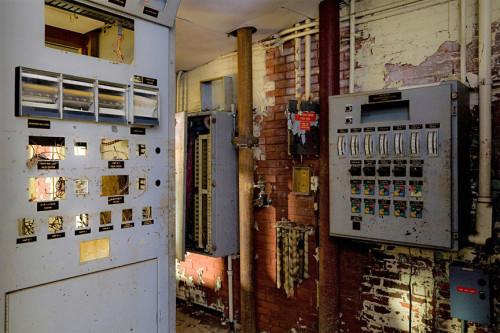 Main control room (courtesy Ian Ference)