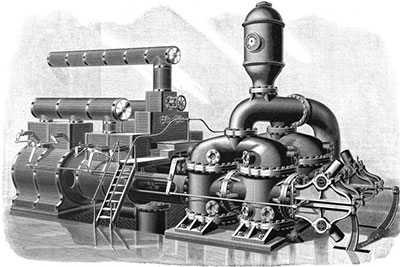 Worthington Duplex Pumping Engine