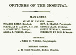 First Board of Managers for the Hudson River State Hospital for the Insane