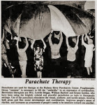 Parachute therapy at Hudson River Psychiatric Center