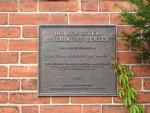 Hudson River State Hospital historic preservation plaque 1989