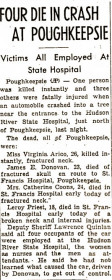 four die in crash at Hudson River State Hospital article