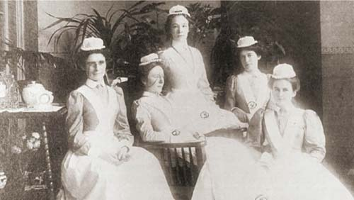 Hudson River State Hospital School of Nursing Class of 1898