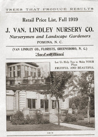 J. Van Lindley Nursery Co. catalogue 1919