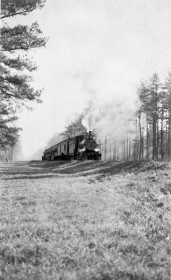 Overhills railroad line