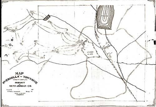 Kent-Jordan Overhills site map