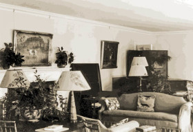 Overhills Croatan interior 1930s