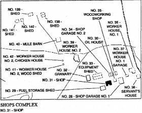 Overhills shops complex site map