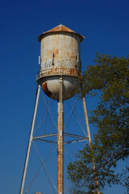Overhills water tower