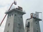 Irish Hills Towers deck removal 2013
