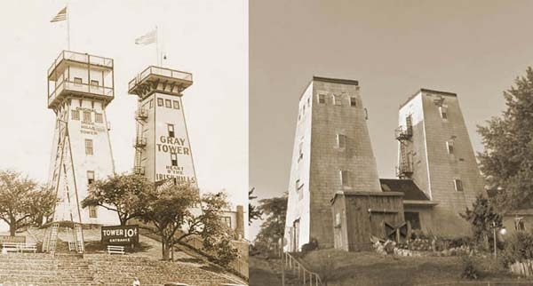 The towers of Irish Hills... 1925 and 2015