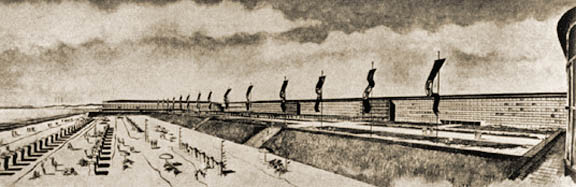Prora as illustrated in a 1936 Clemens Klotz rendering
