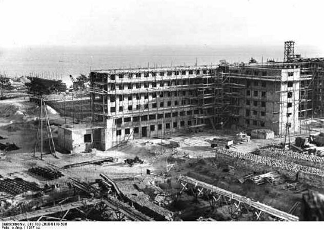 Prora Rügen under construction 1937