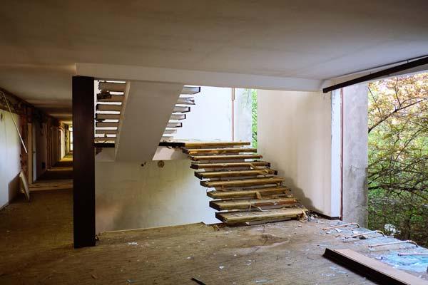 Inside the Haludovo Palace Hotel