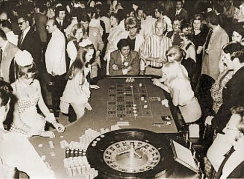 Gambling at the Haludovo Palace Hotel, circa 1972
