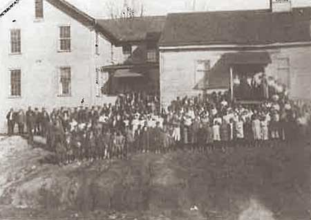 Morristown College class photo 1880s