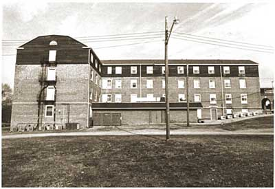 Third Crary Hall, west elevation circa 1983