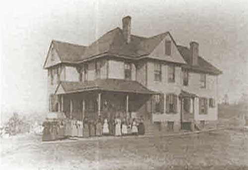 Morristown College New Jersey Home 1900