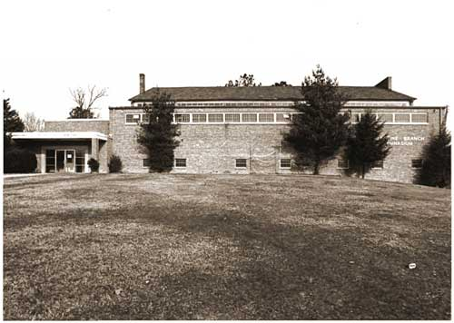 Morristown College Valentine Branch Gymnasium 1983