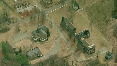 Morristown College aerial view 2009