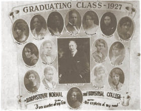 Morristown graduating class of 1927