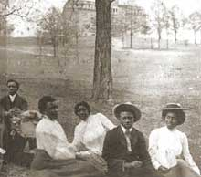 Morristown students, circa 1900