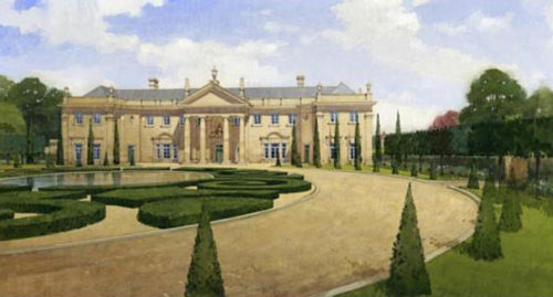 Ravenswick Hall artist rendition