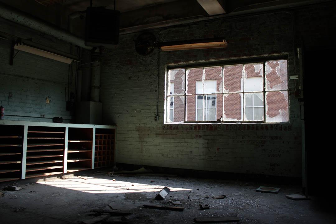 Glenn Dale Hospital Warehouse Interior BP