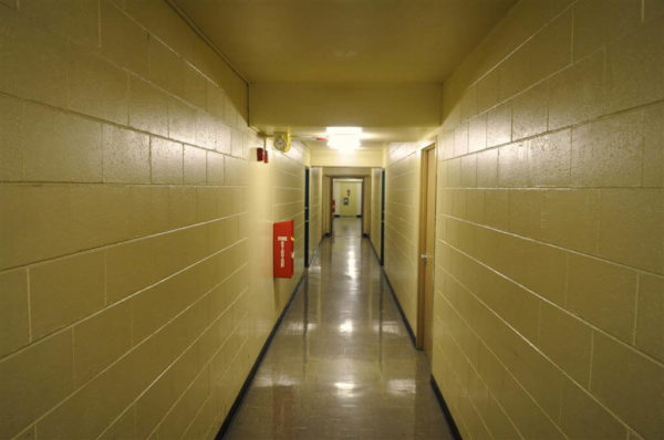 Begich-Towers-indoor-hallway