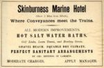 An advertisement for the Skinburness Marine Hotel, circa 1880s.