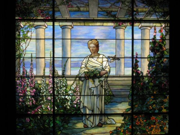 Swannanoa Tiffany stained glass