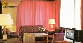 Monte Palace Hotel sitting area, circa 1980s