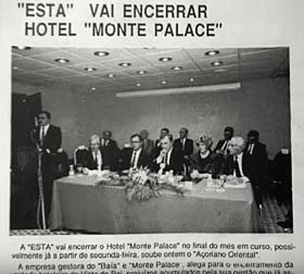 Results of 1990 meeting see Monte Palace closed by ESTA
