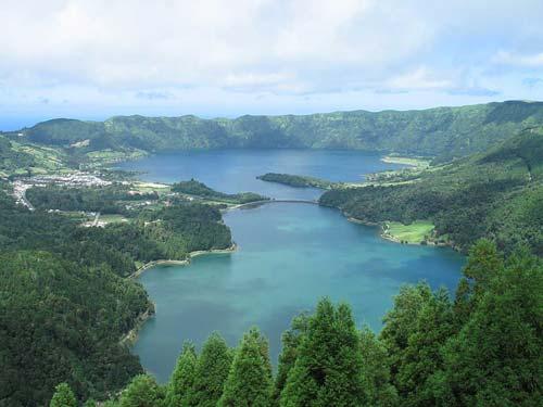 Lagoa das Sete Cidades, Sao Miguel, Azores