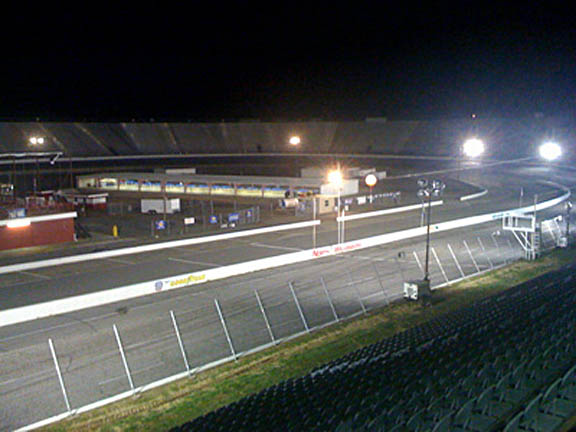 North Wilkesboro Speedway grandstands today