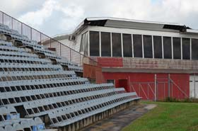 Another roof at North Wilkesboro Speedway is about to go.