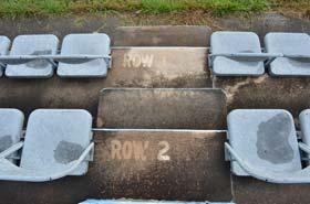 North Wilkesboro trackside seating