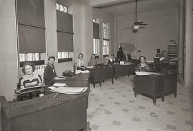 Office of County Clerk Roy D. Cliff.