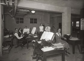 Tax Billing Department located in the old 1914 Nueces County Courthouse